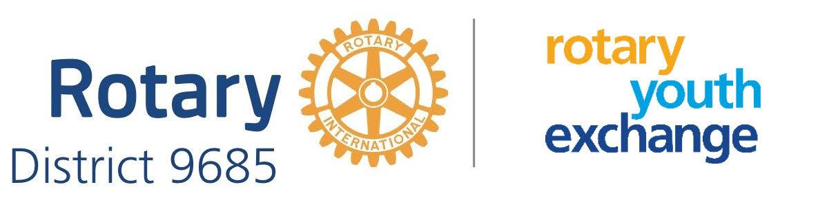 Rotary District 9685 Youth Exchange Australia Logo